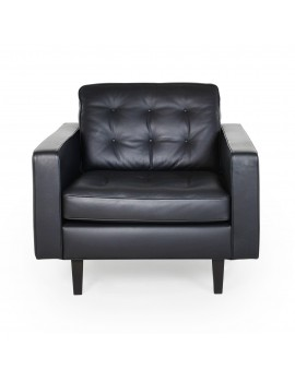 Two Black Armchair